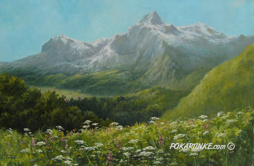 Летний цвет - картинная галерея PoKartinke.com