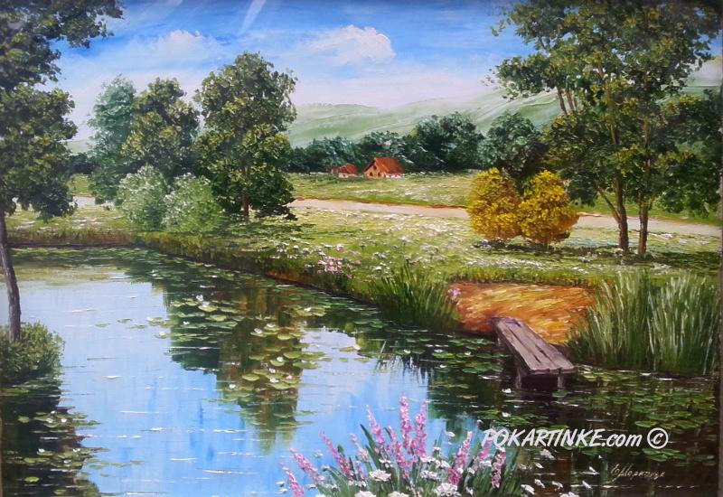 В летний день - картинная галерея PoKartinke.com