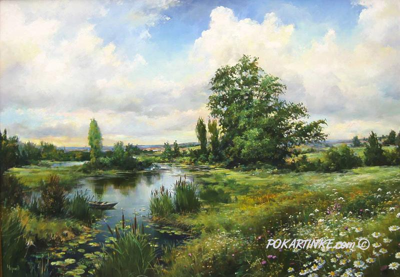 Лето на Родине - картинная галерея PoKartinke.com