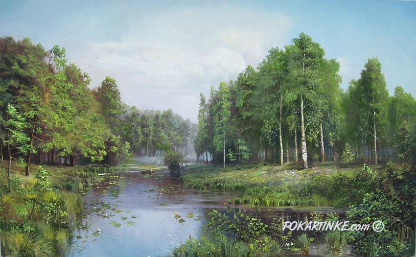 Летом - картинная галерея PoKartinke.com