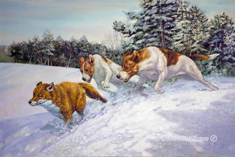 Погоня - картинная галерея PoKartinke.com