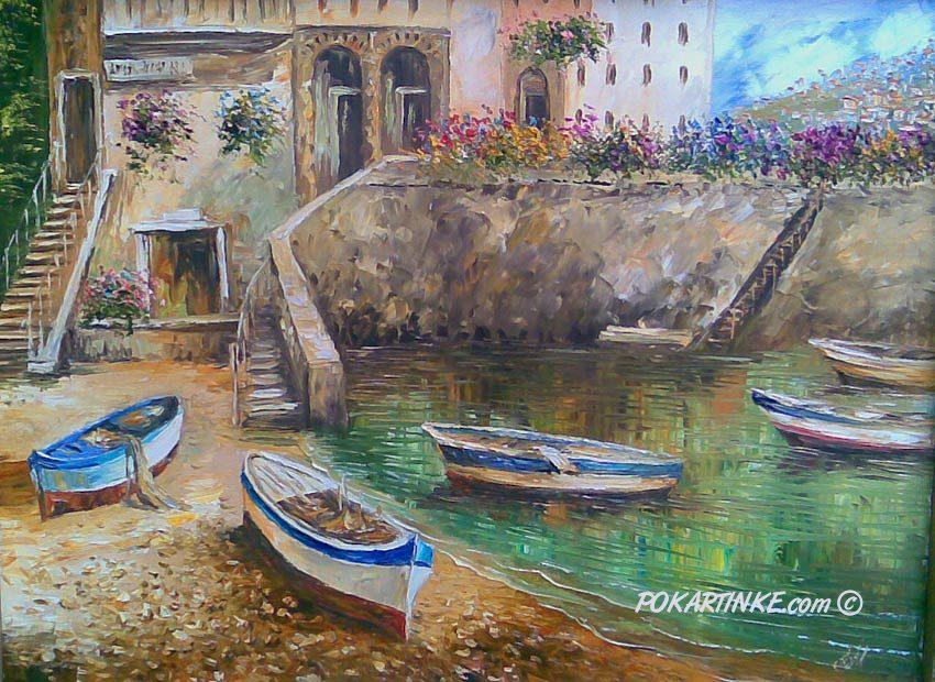 Лодки - картинная галерея PoKartinke.com