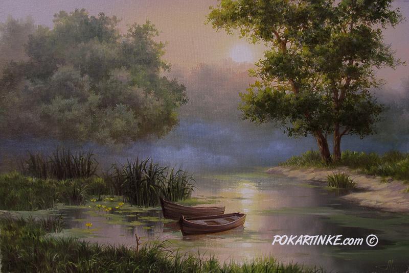 Лодочки - картинная галерея PoKartinke.com