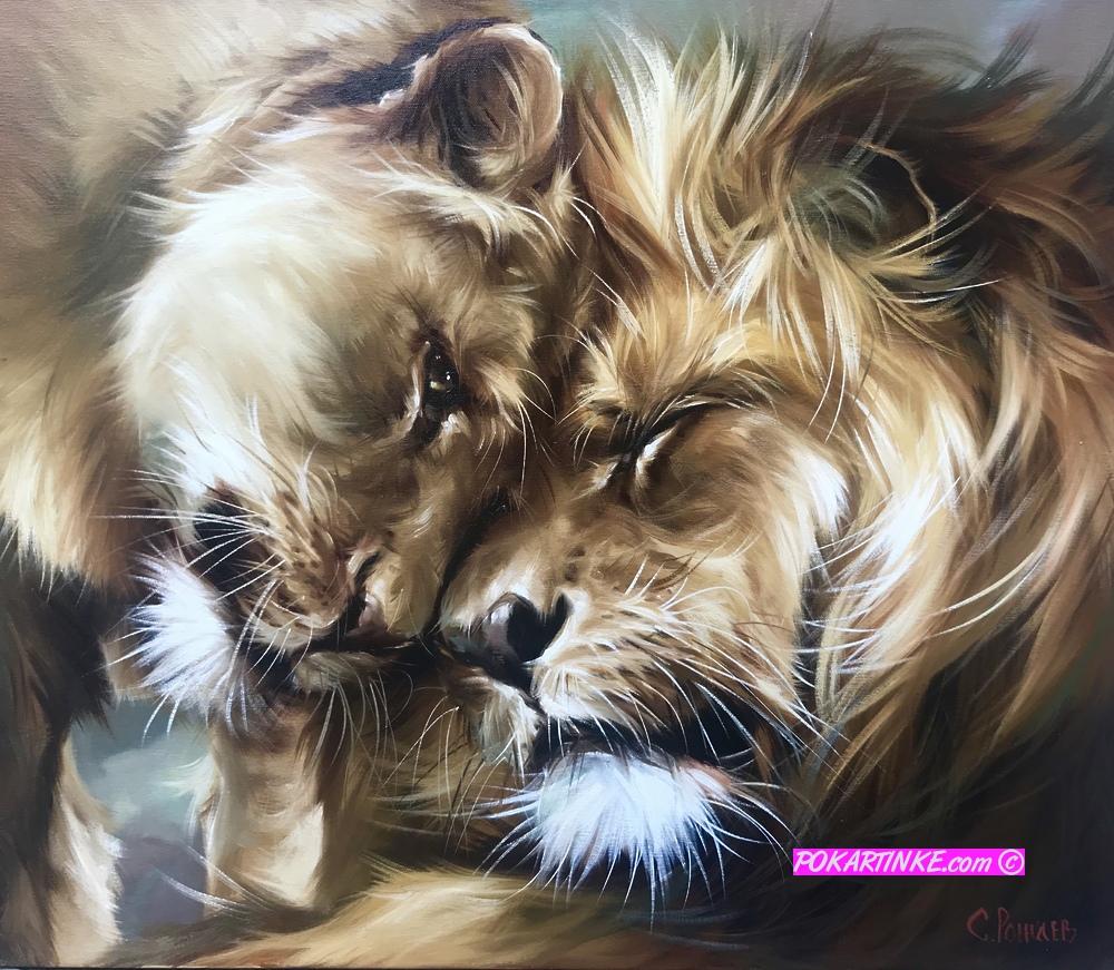 Нежность царя - картинная галерея PoKartinke.com