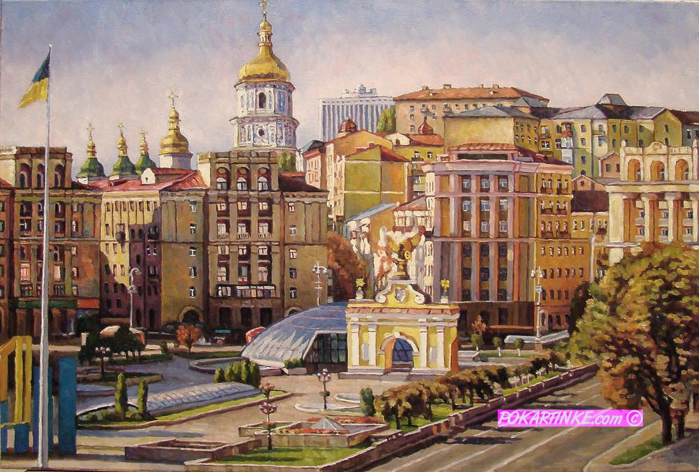 Майдан Незалежності - картинная галерея PoKartinke.com