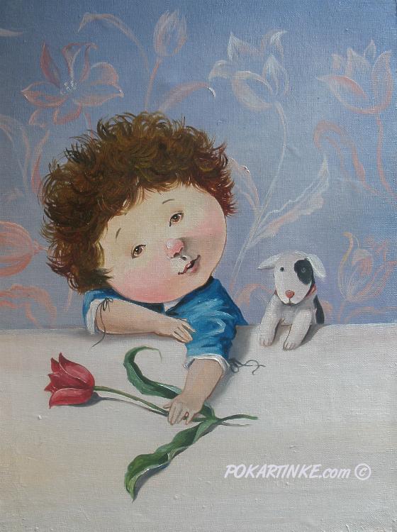 Маленький Рембрандт - картинная галерея PoKartinke.com