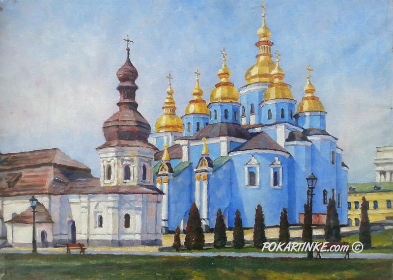 Михайловский собор и трапезная - картинная галерея PoKartinke.com