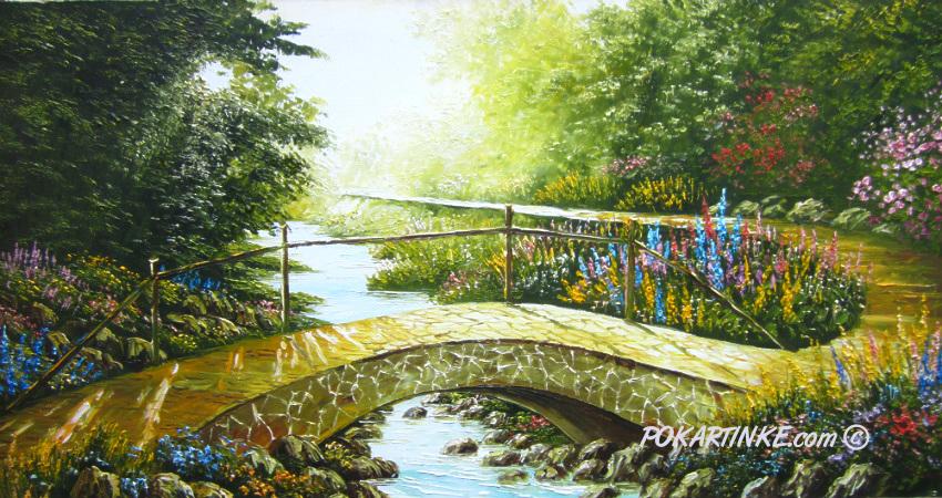 Мостик весны - картинная галерея PoKartinke.com