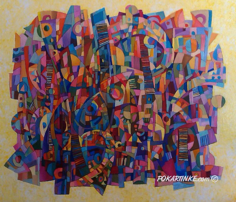 Музыкальный колорит - картинная галерея PoKartinke.com