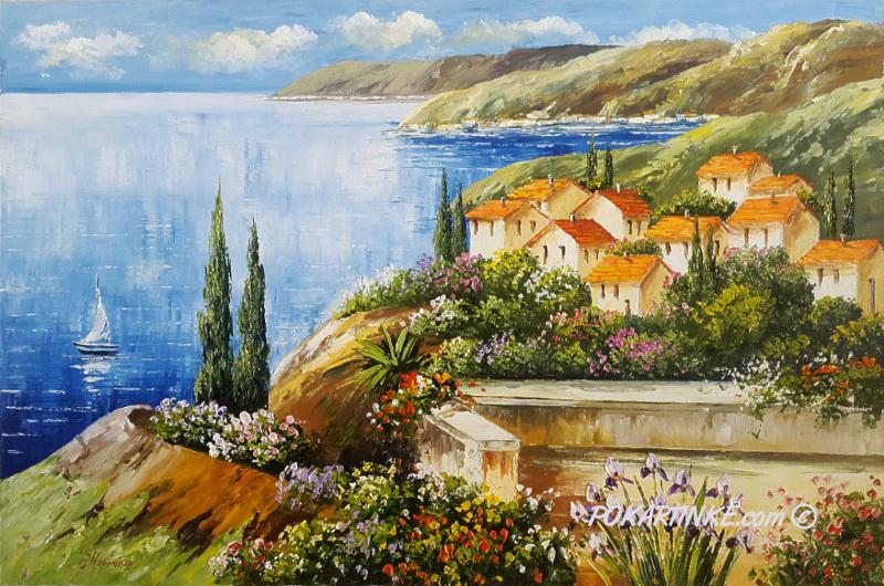 На балканах - картинная галерея PoKartinke.com