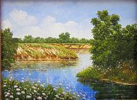 На берегах тихой реки