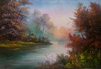 У осенней реки