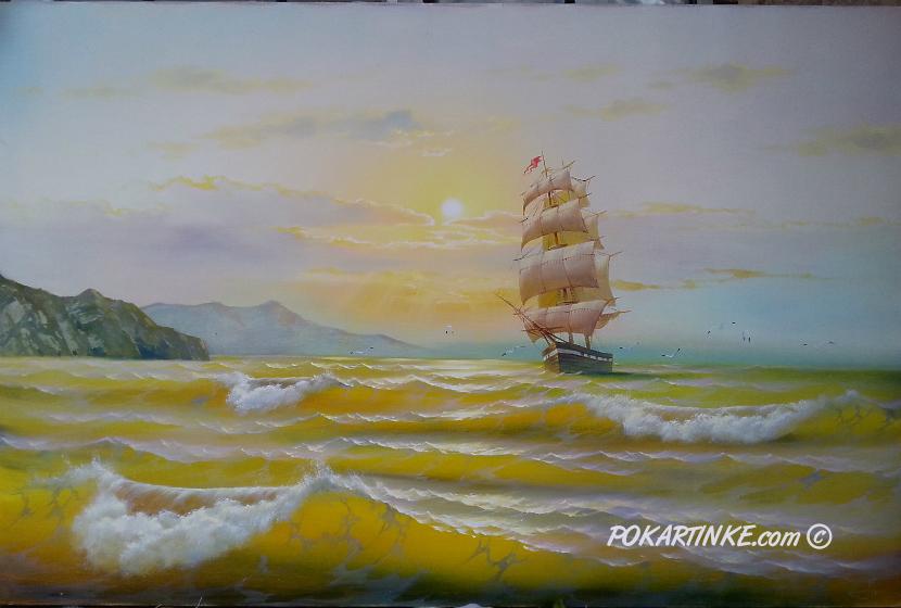 На парусах - картинная галерея PoKartinke.com