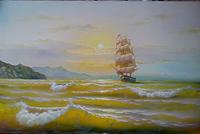На парусах