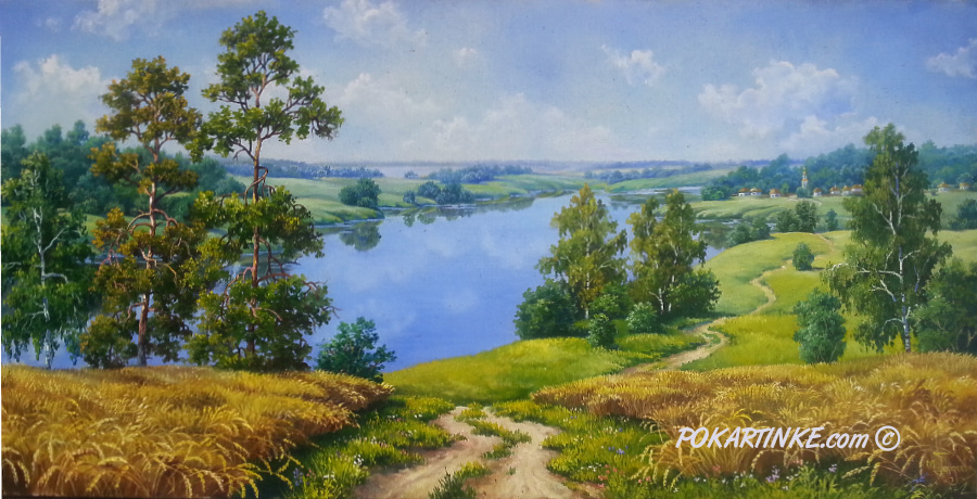 На рідних просторах України - картинная галерея PoKartinke.com