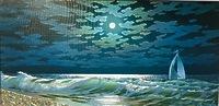 Ночное море