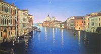 Венецианский канал вечером
