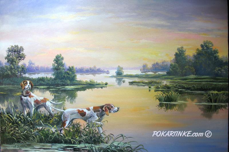 Охотничьи собаки - картинная галерея PoKartinke.com