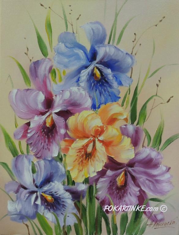 Орхидеи - картинная галерея PoKartinke.com