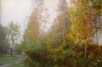 Осень. Березы