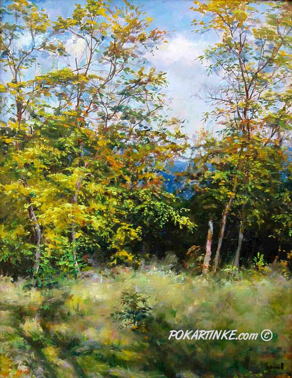 Осень на одесских склонах. - картинная галерея PoKartinke.com