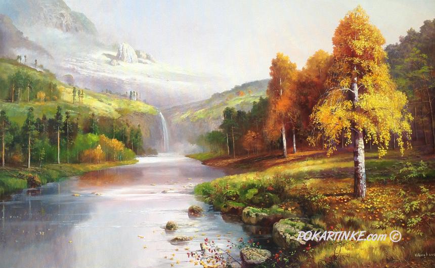 Осень в горах - картинная галерея PoKartinke.com
