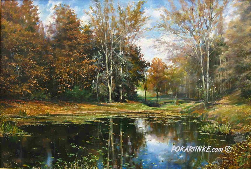 Осень в Софиевском парке - картинная галерея PoKartinke.com