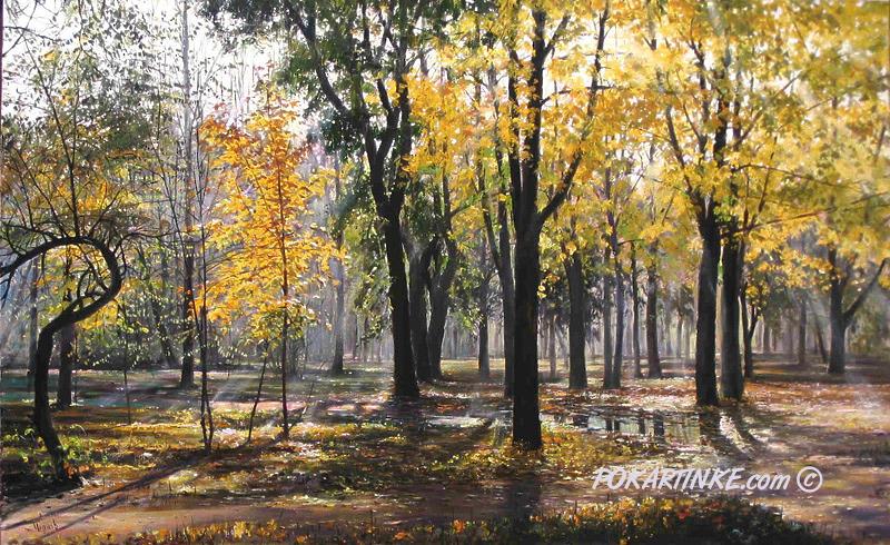 Осенью после дождя - картинная галерея PoKartinke.com