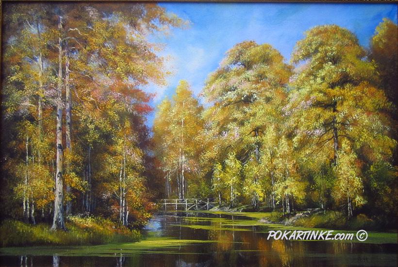Пришла осенняя пора - картинная галерея PoKartinke.com