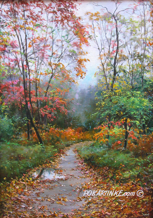 Осенний денек - картинная галерея PoKartinke.com