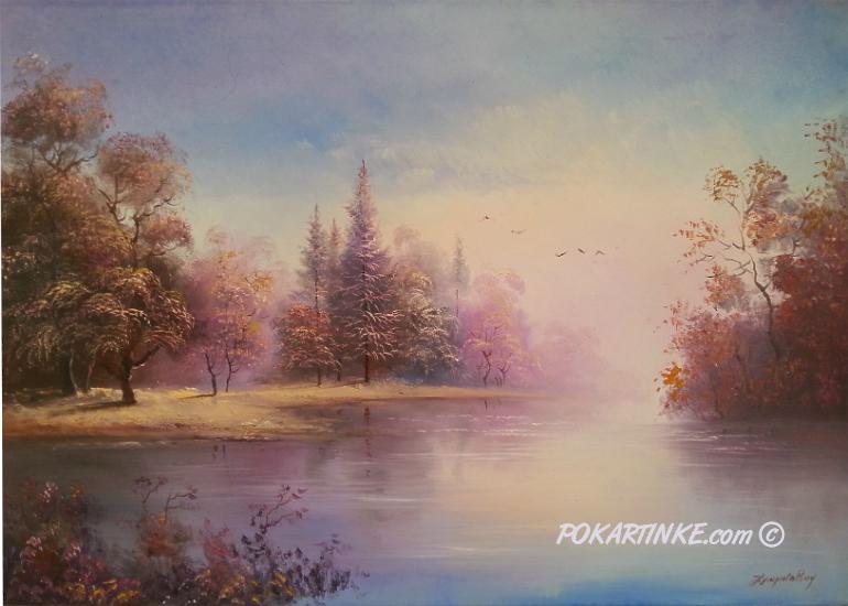Розовый туман - картинная галерея PoKartinke.com