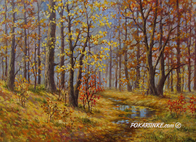 Осенний вечер - картинная галерея PoKartinke.com
