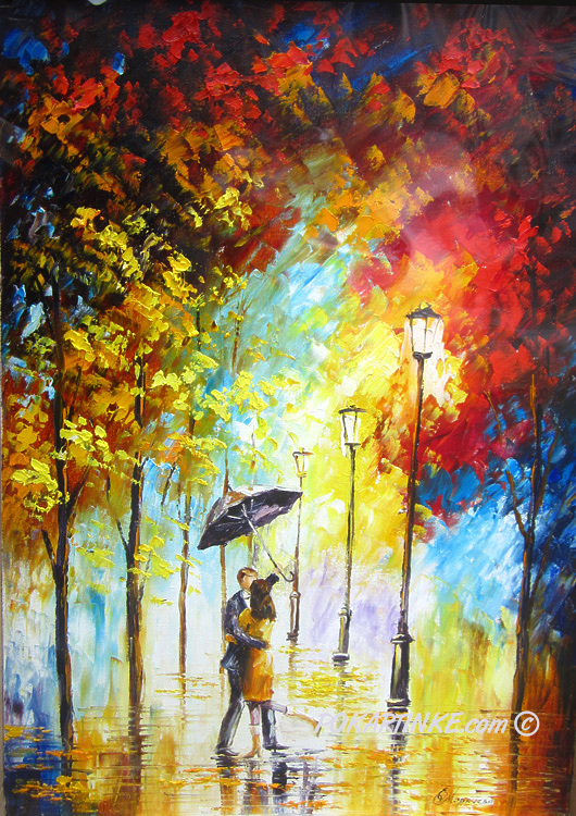 Осенняя любовь - картинная галерея PoKartinke.com