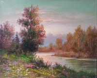 Осінь коло річки