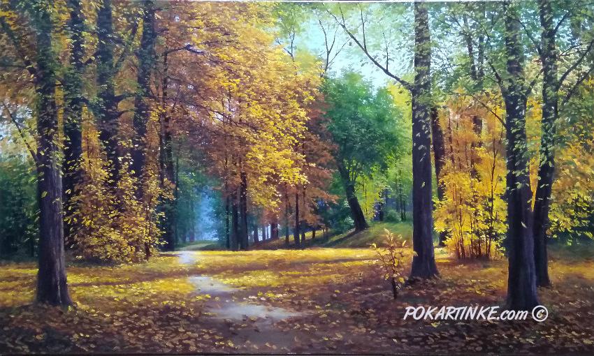 Сказочный лес - картинная галерея PoKartinke.com