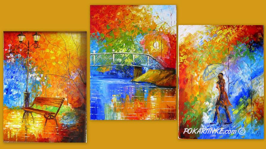 Оттенки осени - картинная галерея PoKartinke.com