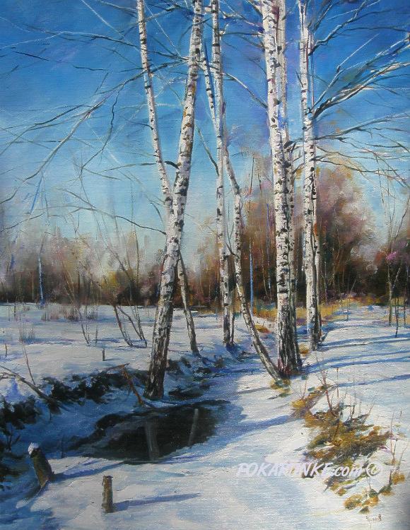 Оттепель - картинная галерея PoKartinke.com