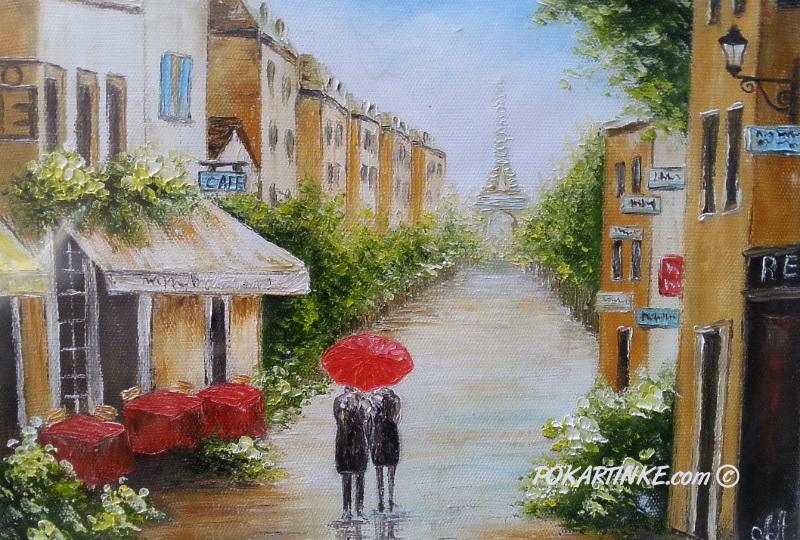 Парижская весна - картинная галерея PoKartinke.com