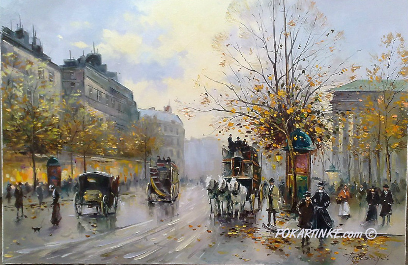 Париж - картинная галерея PoKartinke.com
