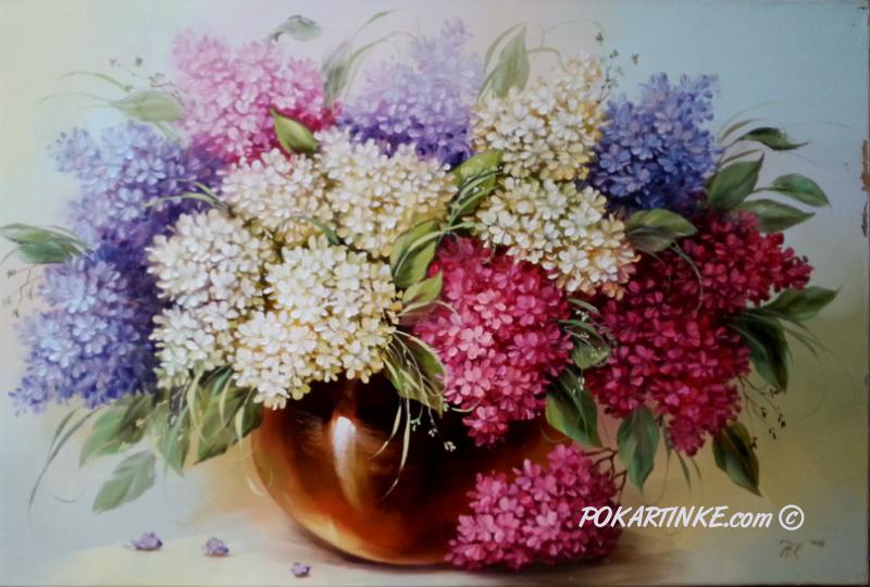 Пышная сиренька - картинная галерея PoKartinke.com