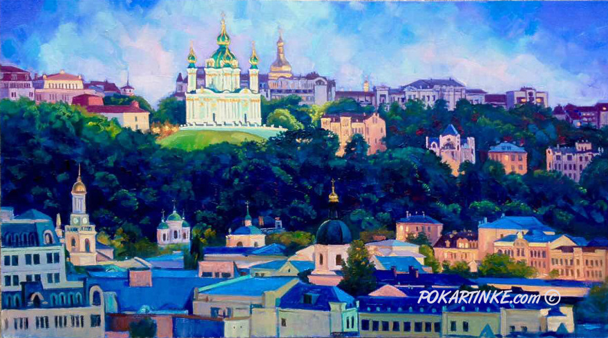 Подол вечерний - картинная галерея PoKartinke.com