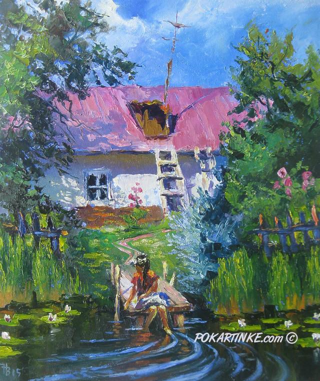 В полдень - картинная галерея PoKartinke.com