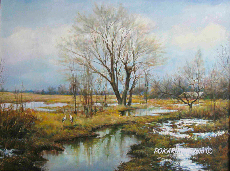 Приход весны - картинная галерея PoKartinke.com