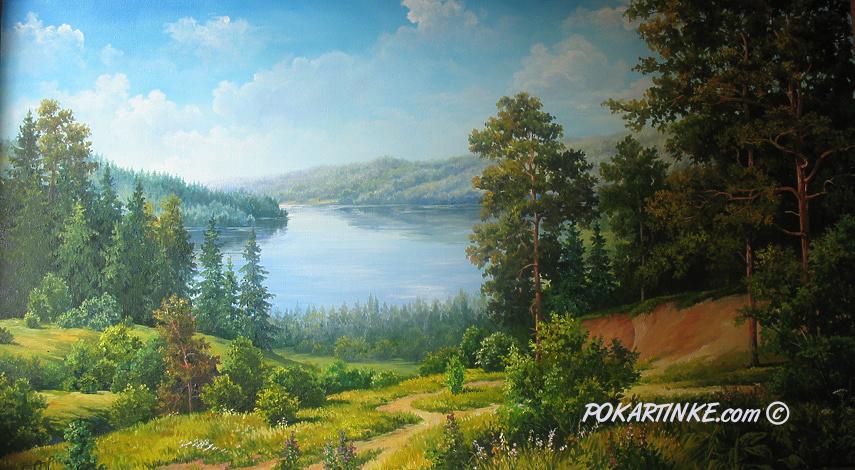 Простор земли родной - картинная галерея PoKartinke.com