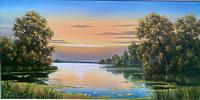 Рассвет на озере