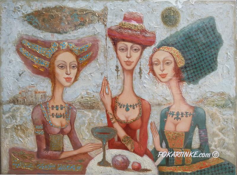 Разговор в пустыне - картинная галерея PoKartinke.com