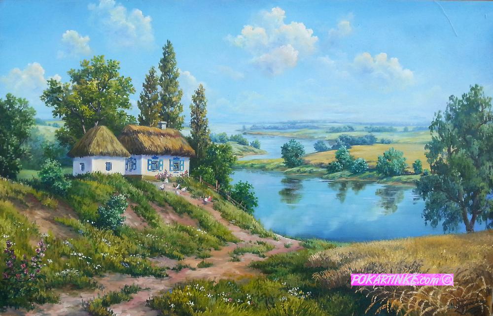 На рідних просторах - картинная галерея PoKartinke.com