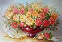 Розы с вуалью