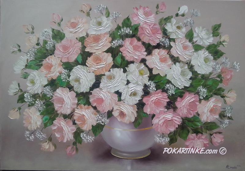 Ніжні троянди - картинная галерея PoKartinke.com