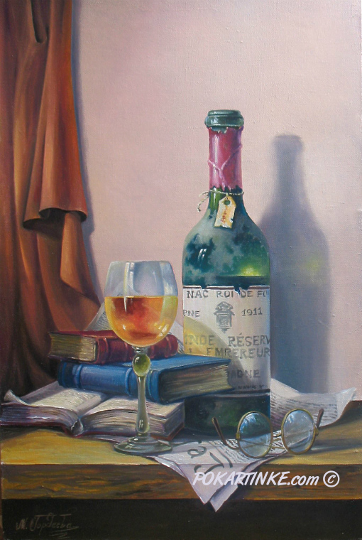 Книги и очки - картинная галерея PoKartinke.com